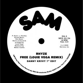 "Rhyze / John Davis & The Monster Orchestra - Free / Love Magic (Danny Krivit 7"" Edits)"