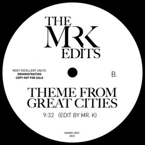 Mr. K - Time Of The Season / Theme For Great Cities