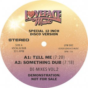 Loveface - De-mixes: Vol 2