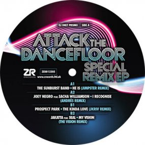 V.A. - Attack The Dancefloor - Special Remix EP (by Jimpster / Andres / JKriv / The Vision)