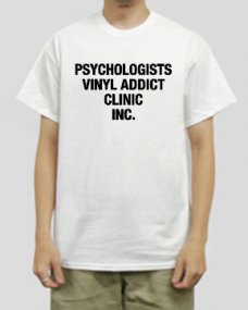 TILT - Vinyl addict clinic T-shirt