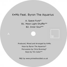 K.Mo Featuring Byron The Aquarius - Space Funk EP