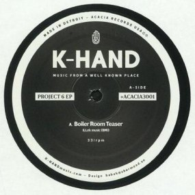 K-Hand - Project 6 EP