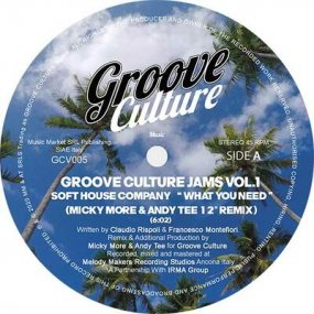 Soft House Company / Micky More & Andy Tee - Groove Culture Jams Vol. 1