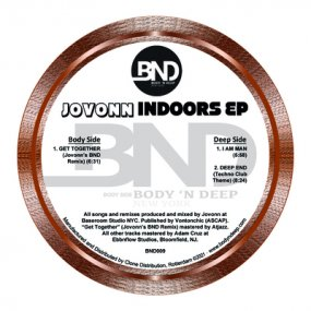 Jovonn - Indoors EP