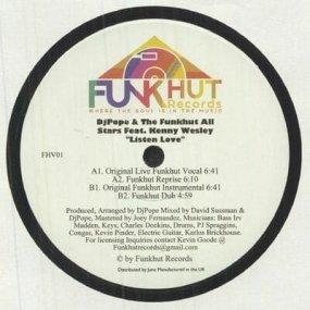 DJ Pope & Funkhut All Stars feat. Kenny Wesley - Listen Love