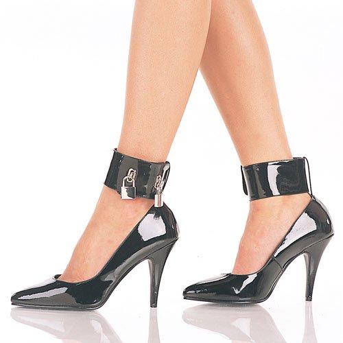 Women in Locking High Heels Boots