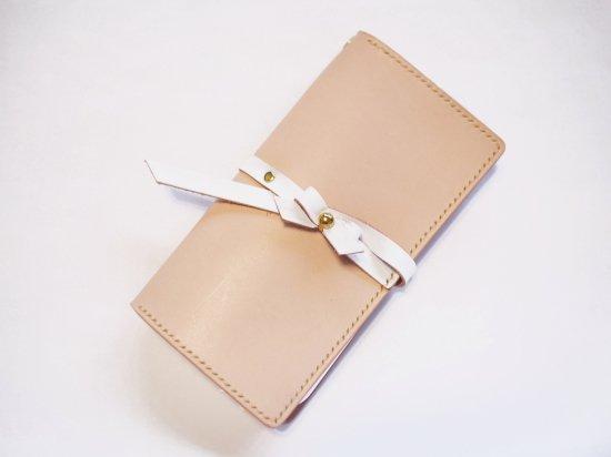 【iPhone】手帳型ケース:LUXY-R<ホワイト>