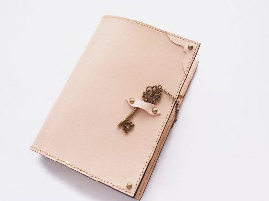 ヌメ革手帳カバー:GRACE(A6、ほぼ日手帳オリジナルサイズ)
