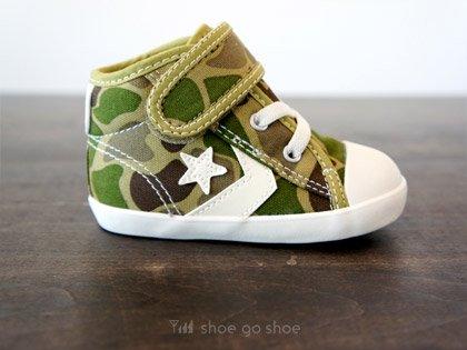 aa09081e14c1  CONVERSE 。 『 BABY CANVAS CHEVRONSTAR N V-1   CAMO (迷彩) 』 - shoe go shoe  Sneaker Store   シュー ゴ シュー スニーカーストアー