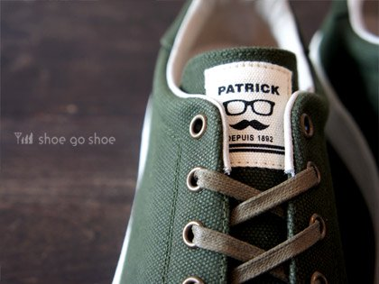 【MEN'S】PATRICK(パトリック)PUNCH-CV (パンチ・キャンバス)