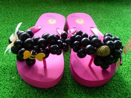 hotflops(ホットフロップス)Pink/black grape(ピンク/黒グレープ)