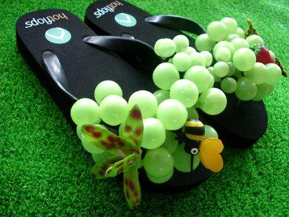 hotflops(ホットフロップス)Black/Green Grapes(黒/グリーングレープ)