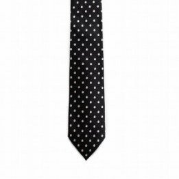 <img class='new_mark_img1' src='https://img.shop-pro.jp/img/new/icons11.gif' style='border:none;display:inline;margin:0px;padding:0px;width:auto;' />SMALL DOTS NECKTIE/BLK