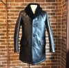 <img class='new_mark_img1' src='https://img.shop-pro.jp/img/new/icons50.gif' style='border:none;display:inline;margin:0px;padding:0px;width:auto;' />MOUTON COLLAR LEATHER GANG COAT/BK