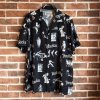 "<img class='new_mark_img1' src='https://img.shop-pro.jp/img/new/icons50.gif' style='border:none;display:inline;margin:0px;padding:0px;width:auto;' />""ROCKABILLY"" S/S HAWAIIAN SHIRT / BLK"