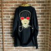 <img class='new_mark_img1' src='https://img.shop-pro.jp/img/new/icons50.gif' style='border:none;display:inline;margin:0px;padding:0px;width:auto;' />WOLF'S HEAD/SMOKING TEDS JACKET(TYPE-4)/BLK
