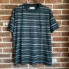 <img class='new_mark_img1' src='https://img.shop-pro.jp/img/new/icons50.gif' style='border:none;display:inline;margin:0px;padding:0px;width:auto;' />STRIPED CREW NECK T-SHIRT(TYPE-4)/GREEN