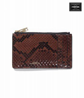 <img class='new_mark_img1' src='https://img.shop-pro.jp/img/new/icons11.gif' style='border:none;display:inline;margin:0px;padding:0px;width:auto;' />PYTHON COIN CASE / BROWN