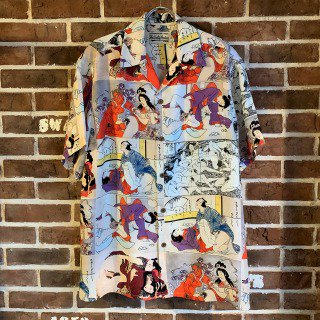 <img class='new_mark_img1' src='https://img.shop-pro.jp/img/new/icons11.gif' style='border:none;display:inline;margin:0px;padding:0px;width:auto;' />HAWAIIAN SHIRT S/S (TYPE-2)/ONE