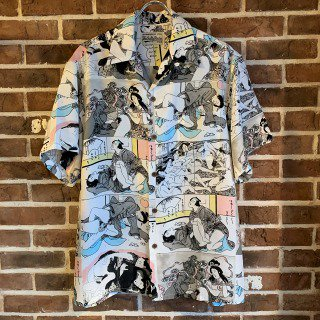 <img class='new_mark_img1' src='https://img.shop-pro.jp/img/new/icons11.gif' style='border:none;display:inline;margin:0px;padding:0px;width:auto;' />HAWAIIAN SHIRT S/S (TYPE-3)/ONE