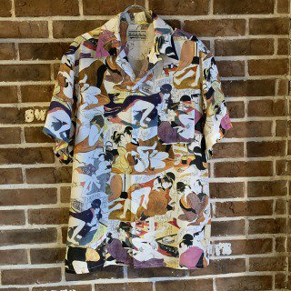 <img class='new_mark_img1' src='https://img.shop-pro.jp/img/new/icons11.gif' style='border:none;display:inline;margin:0px;padding:0px;width:auto;' />HAWAIIAN SHIRT S/S (TYPE-4)/ONE