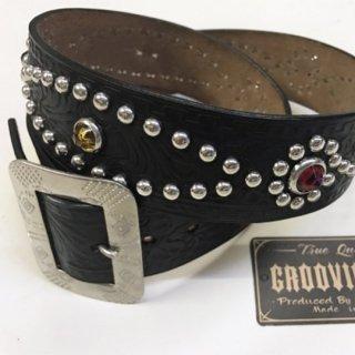 VINTAGE 40'S studded belt