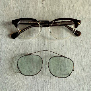 <img class='new_mark_img1' src='https://img.shop-pro.jp/img/new/icons50.gif' style='border:none;display:inline;margin:0px;padding:0px;width:auto;' />James Dean 1950's Vintage Style Glasses&Clip-on /46mm