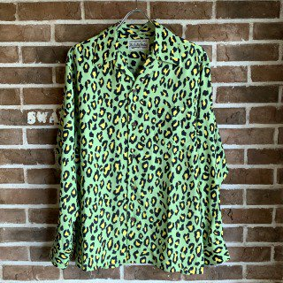 <img class='new_mark_img1' src='https://img.shop-pro.jp/img/new/icons11.gif' style='border:none;display:inline;margin:0px;padding:0px;width:auto;' />HAWAIIAN SHIRT L/S ( TYPE-4 )/GREEN