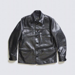 <img class='new_mark_img1' src='https://img.shop-pro.jp/img/new/icons11.gif' style='border:none;display:inline;margin:0px;padding:0px;width:auto;' />HORSEHIDE CAR COAT/BLACK