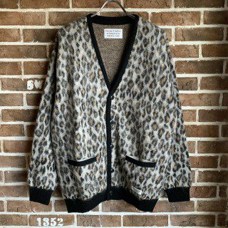<img class='new_mark_img1' src='https://img.shop-pro.jp/img/new/icons11.gif' style='border:none;display:inline;margin:0px;padding:0px;width:auto;' />LEOPARD MOHAIR CARDIGAN(TYPE-1)/BEIGE