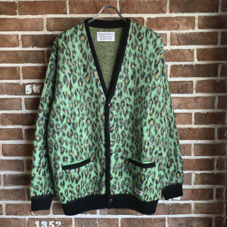 <img class='new_mark_img1' src='https://img.shop-pro.jp/img/new/icons11.gif' style='border:none;display:inline;margin:0px;padding:0px;width:auto;' />LEOPARD MOHAIR CARDIGAN(TYPE-1)/GREEN