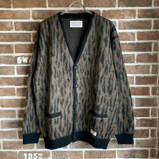 <img class='new_mark_img1' src='https://img.shop-pro.jp/img/new/icons11.gif' style='border:none;display:inline;margin:0px;padding:0px;width:auto;' />LEOPARD MOHAIR CARDIGAN ( TYPE-2 )/BROWN