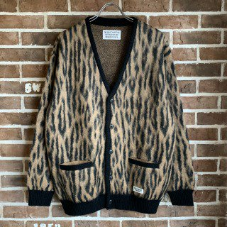 <img class='new_mark_img1' src='https://img.shop-pro.jp/img/new/icons11.gif' style='border:none;display:inline;margin:0px;padding:0px;width:auto;' />LEOPARD MOHAIR CARDIGAN ( TYPE-2 )/CAMEL