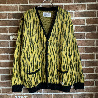 <img class='new_mark_img1' src='https://img.shop-pro.jp/img/new/icons11.gif' style='border:none;display:inline;margin:0px;padding:0px;width:auto;' />LEOPARD MOHAIR CARDIGAN ( TYPE-2 )/YELLOW