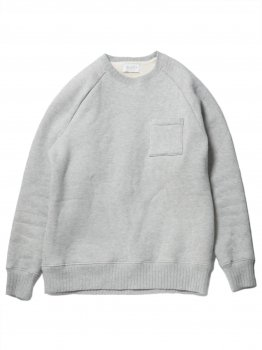 <img class='new_mark_img1' src='//img.shop-pro.jp/img/new/icons20.gif' style='border:none;display:inline;margin:0px;padding:0px;width:auto;' />【FLISTFIA】Crew Neck Sweat/グレーストライプ(30%OFF)