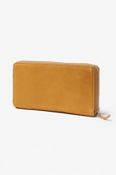 【hobo】Cow Leather Zip Wallet/ベージュ