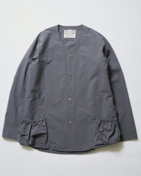 <img class='new_mark_img1' src='//img.shop-pro.jp/img/new/icons48.gif' style='border:none;display:inline;margin:0px;padding:0px;width:auto;' />【WHITE LINE】WL V Neck Shirt Jacket/ダークグレー