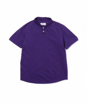 <img class='new_mark_img1' src='//img.shop-pro.jp/img/new/icons20.gif' style='border:none;display:inline;margin:0px;padding:0px;width:auto;' />【SANDINISTA】Overdyed Polo Shirt-Regular Fit/パープル(30%OFF)