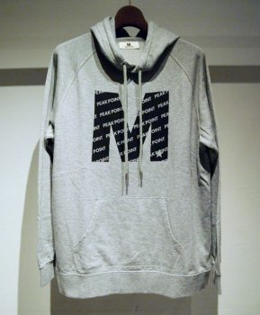 <img class='new_mark_img1' src='https://img.shop-pro.jp/img/new/icons20.gif' style='border:none;display:inline;margin:0px;padding:0px;width:auto;' />【M】sweat hoodie (M)/グレー(30%OFF)