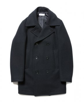 <img class='new_mark_img1' src='https://img.shop-pro.jp/img/new/icons48.gif' style='border:none;display:inline;margin:0px;padding:0px;width:auto;' />【ROTTWEILER】Wool P-Coat/ブラック