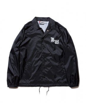 <img class='new_mark_img1' src='https://img.shop-pro.jp/img/new/icons13.gif' style='border:none;display:inline;margin:0px;padding:0px;width:auto;' />【ROTTWEILER】RW PACK Coaches Jacket/ブラック