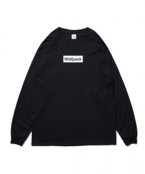 <img class='new_mark_img1' src='https://img.shop-pro.jp/img/new/icons13.gif' style='border:none;display:inline;margin:0px;padding:0px;width:auto;' />【ROTTWEILER】BOX Wolfpack LS Tee/ブラック