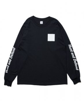 <img class='new_mark_img1' src='https://img.shop-pro.jp/img/new/icons13.gif' style='border:none;display:inline;margin:0px;padding:0px;width:auto;' />【ROTTWEILER】Flag LS Tee/ブラック