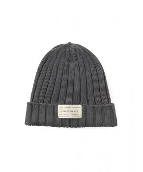 <img class='new_mark_img1' src='https://img.shop-pro.jp/img/new/icons13.gif' style='border:none;display:inline;margin:0px;padding:0px;width:auto;' />【SANDINISTA】Daily Cotton Rib Knit Cap/チャコール
