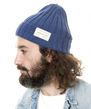 <img class='new_mark_img1' src='https://img.shop-pro.jp/img/new/icons13.gif' style='border:none;display:inline;margin:0px;padding:0px;width:auto;' />【SANDINISTA】Daily Cotton Rib Knit Cap/インディゴブルー