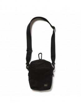 <img class='new_mark_img1' src='https://img.shop-pro.jp/img/new/icons13.gif' style='border:none;display:inline;margin:0px;padding:0px;width:auto;' />【GOOD OL' 】SHOULDER POUCH(PORTER)/ブラック