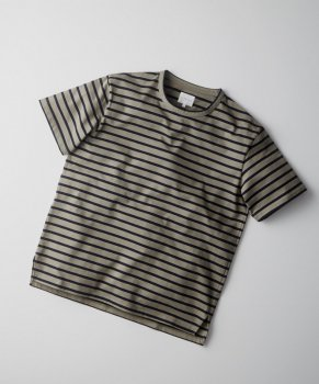 <img class='new_mark_img1' src='https://img.shop-pro.jp/img/new/icons13.gif' style='border:none;display:inline;margin:0px;padding:0px;width:auto;' />【CURLY】AZTEC S/S BORDER TEE
