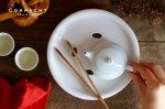 茶盤(白磁)