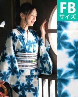 ◆19006GR グリーン地花つなぎ柄FB×博多ロマン帯